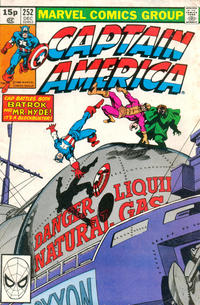 Cover Thumbnail for Captain America (Marvel, 1968 series) #252 [British Price Variant]