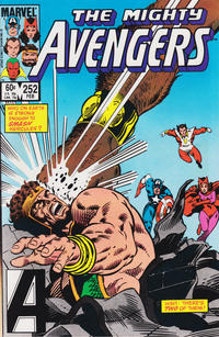 Cover Thumbnail for The Avengers (Marvel, 1963 series) #252 [Direct Edition]