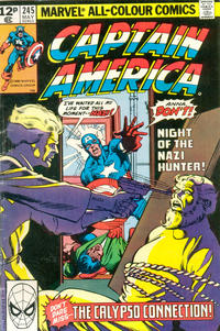 Cover Thumbnail for Captain America (Marvel, 1968 series) #245 [British Price Variant]