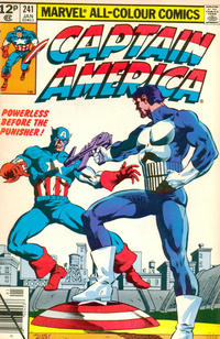 Cover for Captain America (Marvel, 1968 series) #241 [British Price Variant]