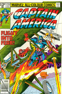 Cover Thumbnail for Captain America (Marvel, 1968 series) #235 [British Price Variant]