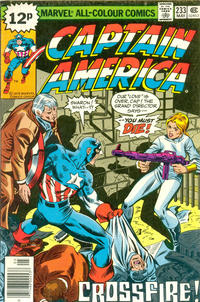 Cover Thumbnail for Captain America (Marvel, 1968 series) #233 [British Price Variant]