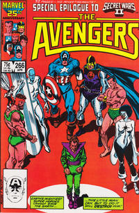 Cover Thumbnail for The Avengers (Marvel, 1963 series) #266 [Direct Edition]