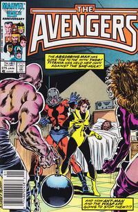 Cover Thumbnail for The Avengers (Marvel, 1963 series) #275 [Newsstand Edition]