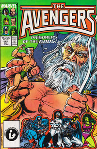 Cover Thumbnail for The Avengers (Marvel, 1963 series) #282 [Direct Edition]