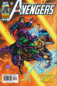 Cover Thumbnail for Avengers (Marvel, 1996 series) #3 [Direct Edition]