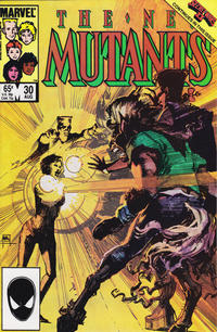 Cover Thumbnail for The New Mutants (Marvel, 1983 series) #30 [direct]
