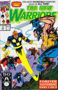 Cover Thumbnail for The New Warriors (Marvel, 1990 series) #11 [Direct]