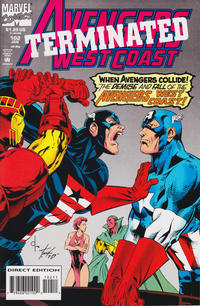 Cover for Avengers West Coast (Marvel, 1989 series) #102 [Newsstand]