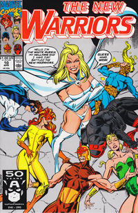 Cover Thumbnail for The New Warriors (Marvel, 1990 series) #10 [Direct]