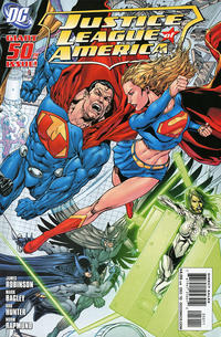 Cover Thumbnail for Justice League of America (DC, 2006 series) #50 [Standard Cover]