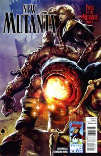 Cover Thumbnail for New Mutants (Marvel, 2009 series) #18