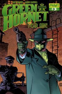 Cover Thumbnail for Green Hornet: Year One (Dynamite Entertainment, 2010 series) #6 [Matt Wagner Cover]