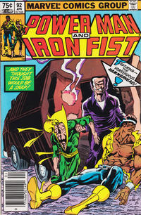 Cover Thumbnail for Power Man and Iron Fist (Marvel, 1981 series) #92 [newsstand]