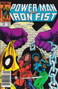 Cover Thumbnail for Power Man and Iron Fist (Marvel, 1981 series) #101 [newsstand]