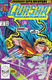 Cover Thumbnail for Quasar (Marvel, 1989 series) #14 [Direct]
