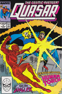 Cover Thumbnail for Quasar (Marvel, 1989 series) #3 [Direct]