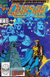 Cover Thumbnail for Quasar (Marvel, 1989 series) #13 [Direct]