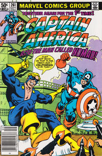 Cover Thumbnail for Captain America (Marvel, 1968 series) #261 [Newsstand Edition]