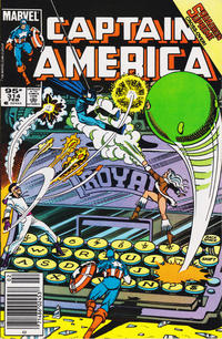 Cover Thumbnail for Captain America (Marvel, 1968 series) #314 [Canadian Newsstand Edition]