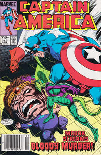 Cover Thumbnail for Captain America (Marvel, 1968 series) #313 [Newsstand Edition]