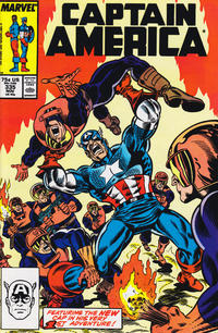 Cover Thumbnail for Captain America (Marvel, 1968 series) #335 [Direct Edition]