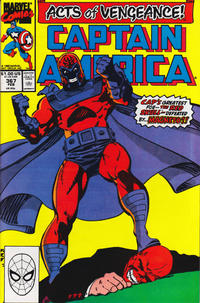 Cover Thumbnail for Captain America (Marvel, 1968 series) #367 [Direct]