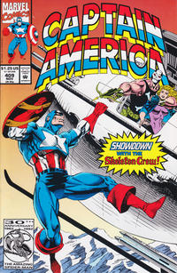Cover Thumbnail for Captain America (Marvel, 1968 series) #409 [Direct Edition]