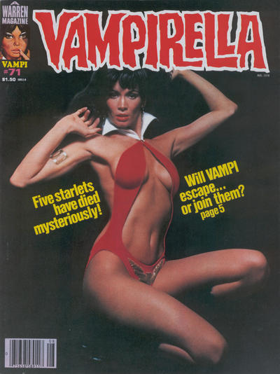 Cover for Vampirella (Warren, 1969 series) #71