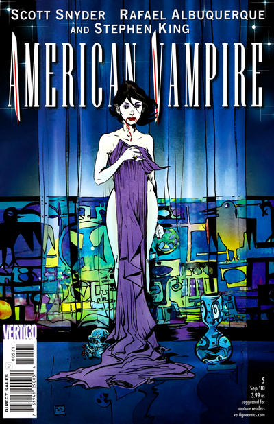 Cover for American Vampire (DC, 2010 series) #5 [Variant Cover (1 in 25)]