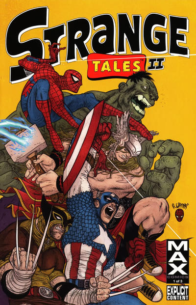 Cover for Strange Tales II (Marvel, 2010 series) #1