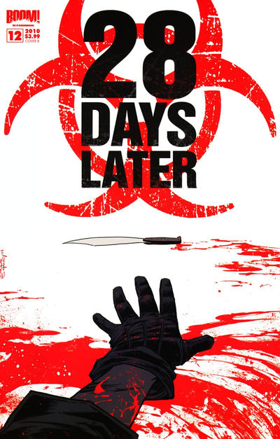 Cover for 28 Days Later (Boom! Studios, 2009 series) #12