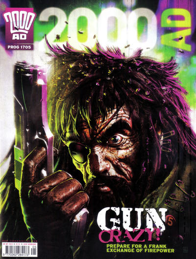 Cover for 2000 AD (Rebellion, 2001 series) #1705