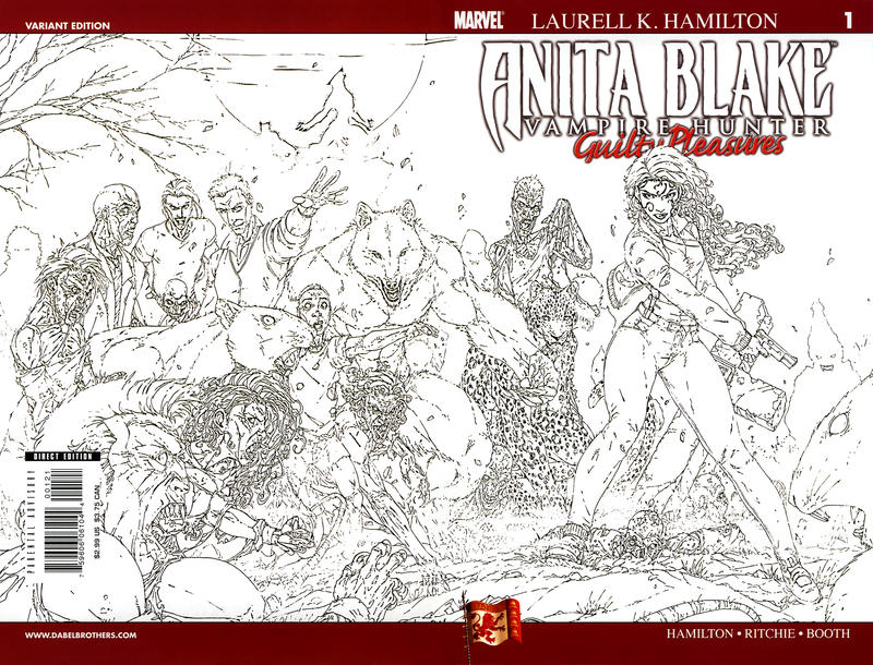 Cover for Anita Blake: Vampire Hunter in Guilty Pleasures (Marvel, 2006 series) #1 [Second Printing]