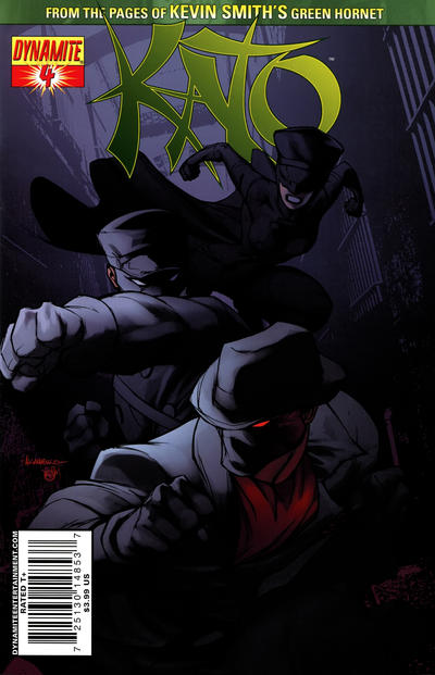 Cover for Kato (Dynamite Entertainment, 2010 series) #4 [Joe Benitez Cover]