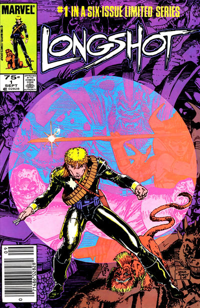 Cover for Longshot (Marvel, 1985 series) #1 [Newsstand]