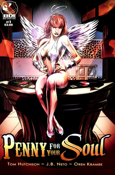 Cover for Penny for Your Soul (Big Dog Ink, 2010 series) #1 [Devilish Delight]