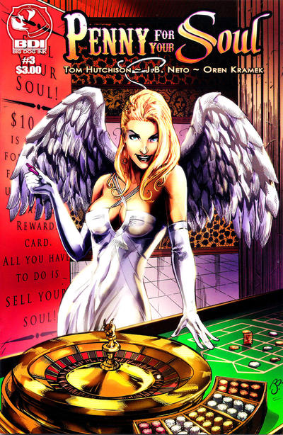 Cover for Penny for Your Soul (Big Dog Ink, 2010 series) #3 [Nude]