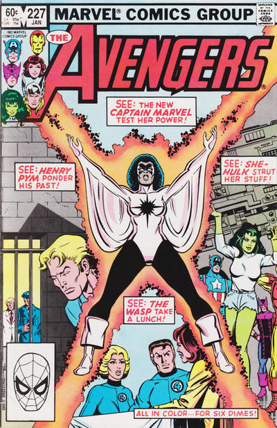 Cover for The Avengers (Marvel, 1963 series) #227 [Newsstand Edition]