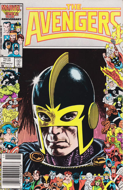 Cover for The Avengers (Marvel, 1963 series) #273 [Direct Edition]