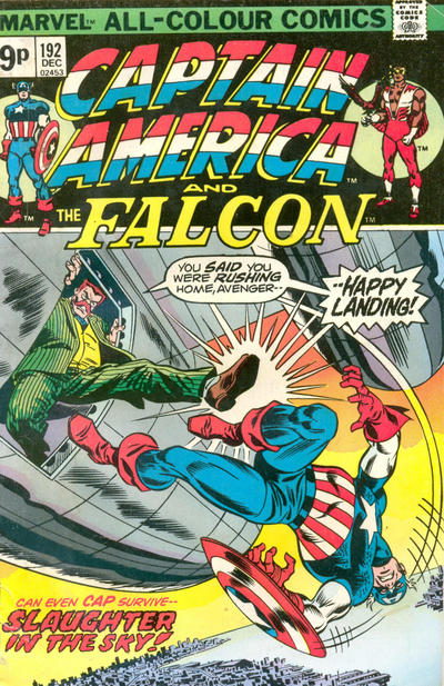 Cover for Captain America (Marvel, 1968 series) #192 [Regular Edition]