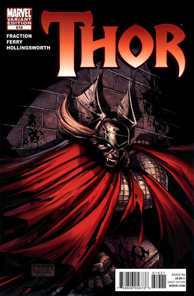 Cover for Thor (Marvel, 2007 series) #616