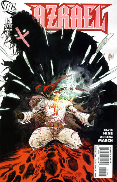 Cover for Azrael (DC, 2009 series) #13