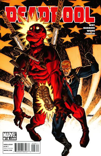 Cover for Deadpool (Marvel, 2008 series) #28 [Vampire Variant]