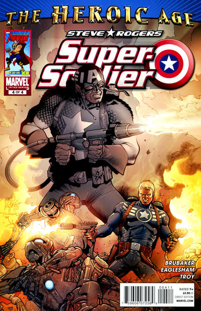Cover for Steve Rogers: Super-Soldier (Marvel, 2010 series) #4