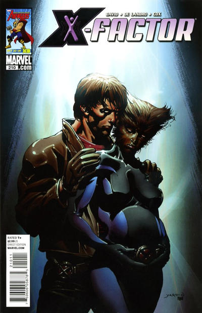 Cover for X-Factor (Marvel, 2006 series) #210