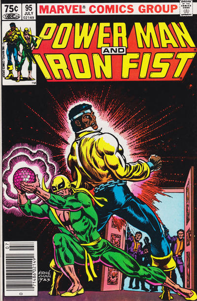 Cover for Power Man and Iron Fist (Marvel, 1981 series) #95 [Canadian Newsstand]