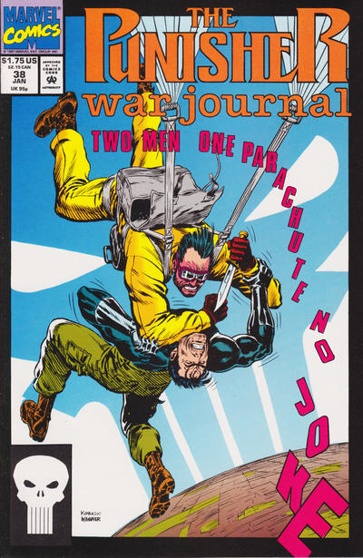 Cover for The Punisher War Journal (Marvel, 1988 series) #38 [Direct]