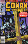 Cover for Conan the Barbarian (Marvel, 1970 series) #236 [Newsstand Edition]