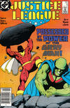 Cover Thumbnail for Justice League (1987 series) #6 [Newsstand]